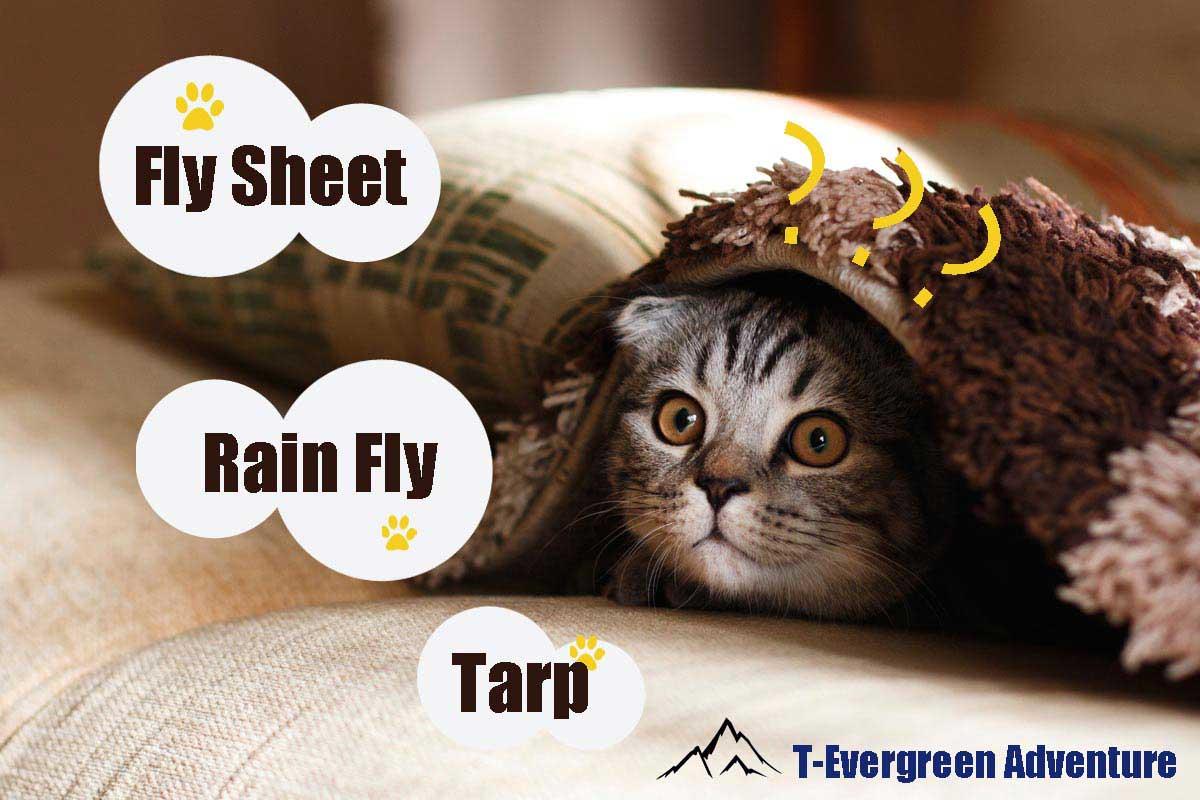 fly sheet rain fly tarp คือ