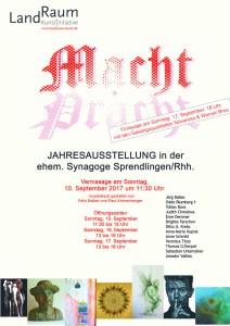 MACHT+PRACHT © Plakat-Jörg Baltes2017