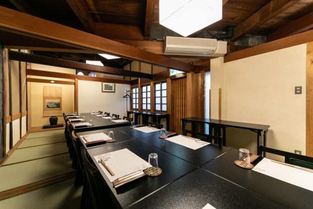 倉敷の会席料理「蔵Pura和膳 風 」ホームページの撮影