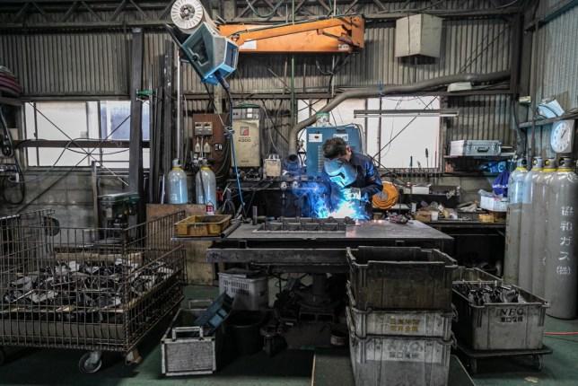 池島工業株式会社様の撮影