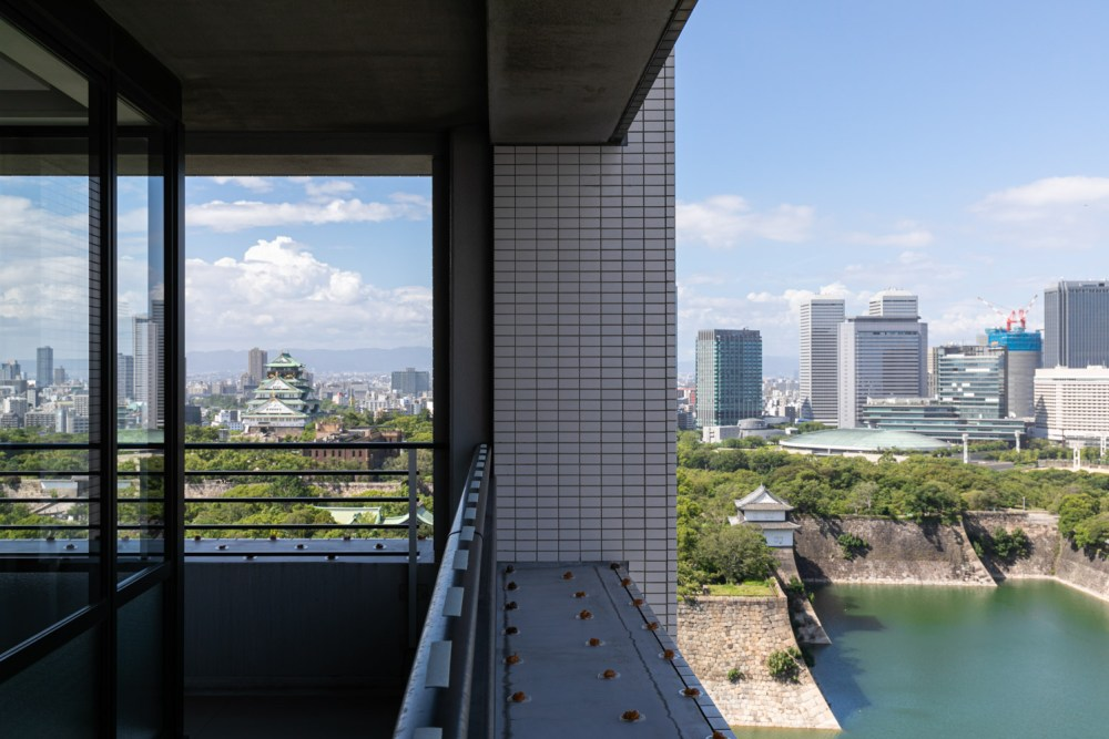 大阪城が見える写真事務所