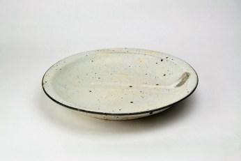 K-10a/b/c/d 粉引5・6・7・8寸リム皿