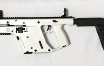 Kriss Vector – .45ACP Pistol with Stabilizing Brace Alpine White  (KV45-PSBAP20)