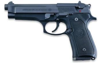 BERETTA 92FS   Black   9mm   15rd (BEJS92F300M)
