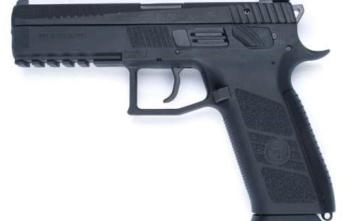 CZ P-09 DUTY | Black Polymer | 9mm | 19rd (CZ91620)