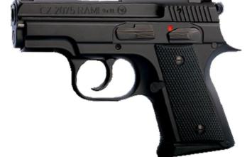 CZ 2075 RAMI-B | Subcompact | Black | 9mm | 10rd Plus (1)14rd (91750)
