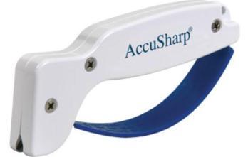 AccuSharp Pull-Thru Sharpener White 001