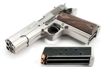 Arsenal Firearms AF2011 Double Barrel Pistol – Stainless | .45ACP | A1 (AF2011-A1.45.AS) SPECIAL ORDER – CONTACT TO PURCHASE