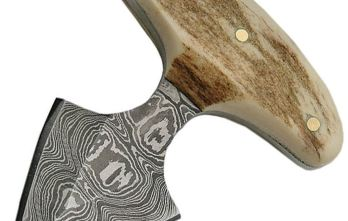 Damascus – Push Knife