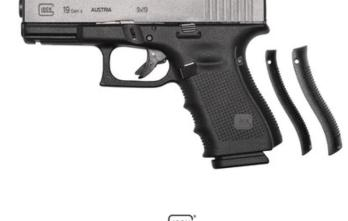 GLOCK – G19 G4 9MM 15+1 4.0″ FS 3-15RD MAGS | ACCESSORY RAIL 9mm (GLPG1950203)