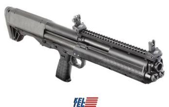 Kel-Tec KSG 12ga Shotgun (KTKSGBLK) 18.5 14+1 TOP PIC RAIL BLACK SYNTHETIC STOCK