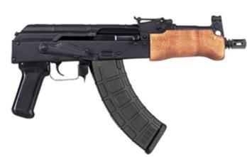 Century Arms Romanian Mini Draco Pistol 7.62x39mm 7.5″ HG2137-N