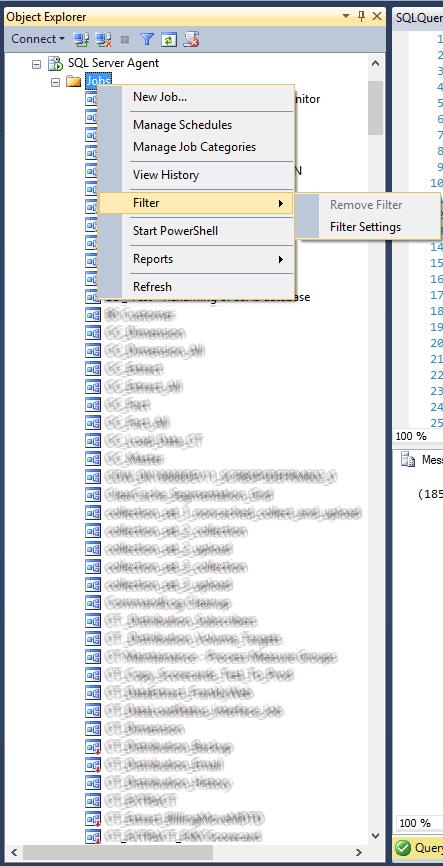 Looong SQL Agent Job List