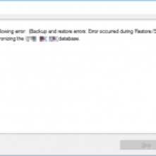 Synchronization Error