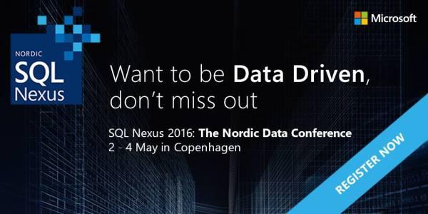 SQL Server 2016 Data Driven