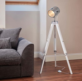 Zennox nautical tripod lamp