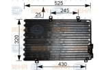 Chłodnica klimatyzacji - skraplacz HELLA (8FC351036-741)