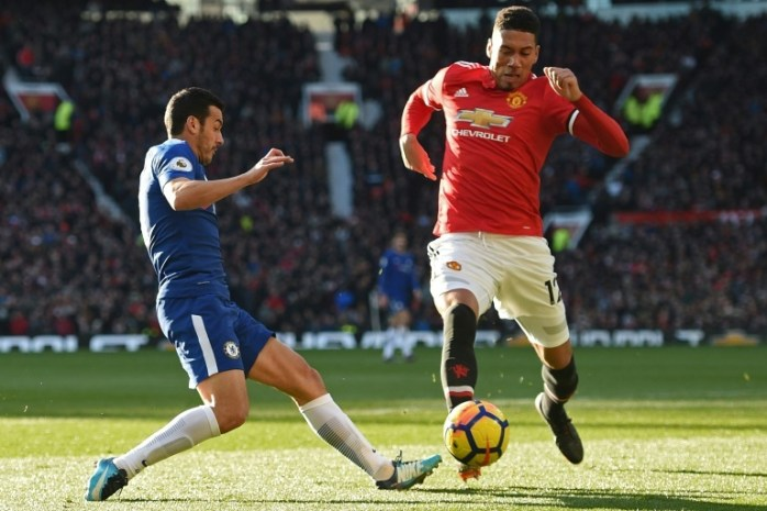 Smalling is set to extend his stay at Old Trafford. AFP