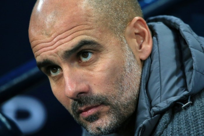 Guardiola will resist the temptation to dip into the transfer market in January. AFP