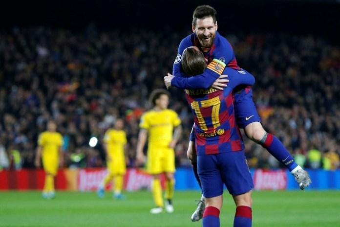 Les buts de Messi et Cristiano en phase finale de Champions League
