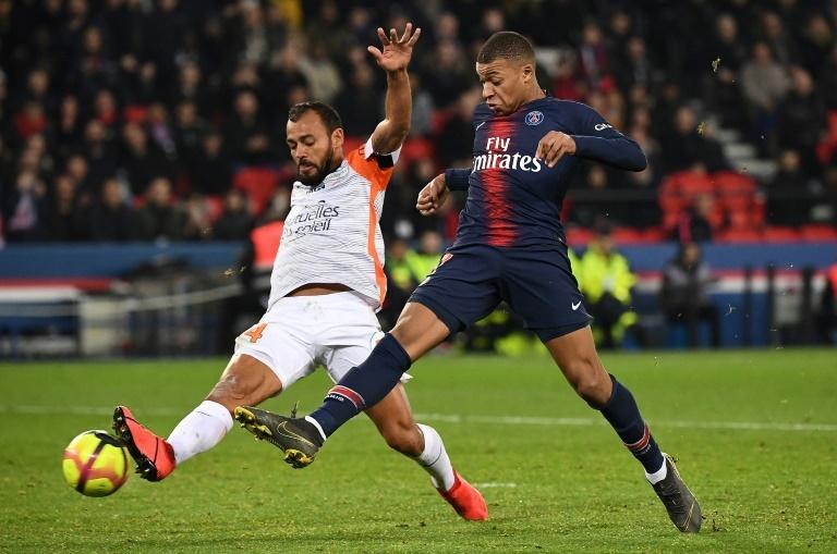 Mbappé pidió el cuarto gol contra el Montpellier sin éxito - BeSoccer