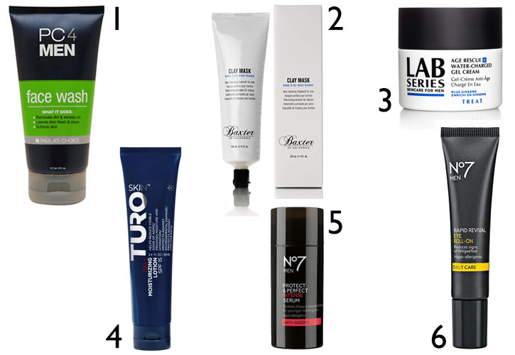 face care products for men