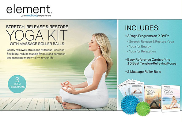 Element: Stretch, Release & Restore Yoga Kit