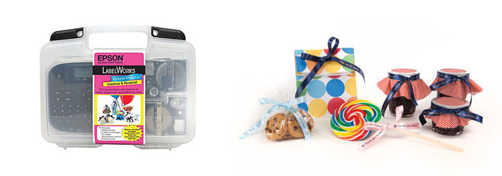 Epson LabelWorks Printable Ribbon Kit at Staples
