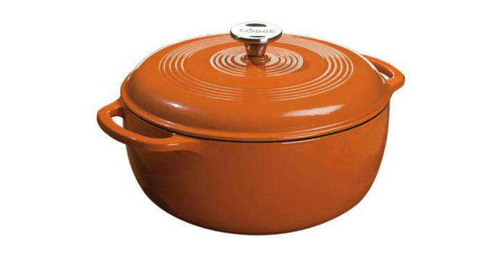 Lodge Enameled Cast Iron Dutch Oven at Walmart