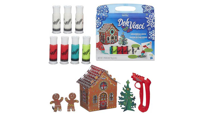 DohVinci Gingerbread House Kit stocking stuffers