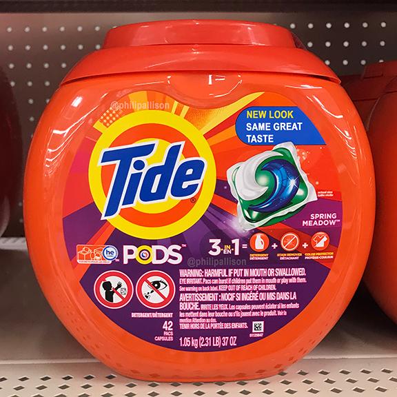 A meme about tide pods