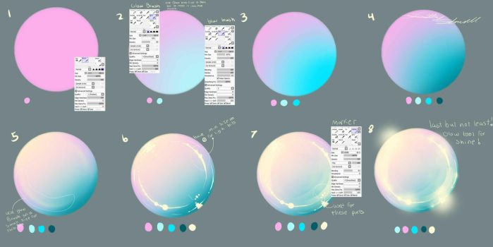 Coloring Gems And Crystals On All Tutorials DeviantArt