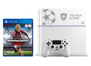 PlayStation4 ワールドサッカー ウイニングイレブン 2015 UEFA CHAMPIONS LEAGUE EDITION - グレイシャー・ホワイト