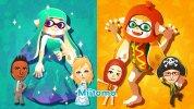 WiiU『スプラトゥーン』、世界同時開催の『Miitomo』コラボフェス「行くならどっち? オシャレなパーティー vs コスプレパーティー」