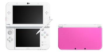 Newニンテンドー3DS ピンク×ホワイト