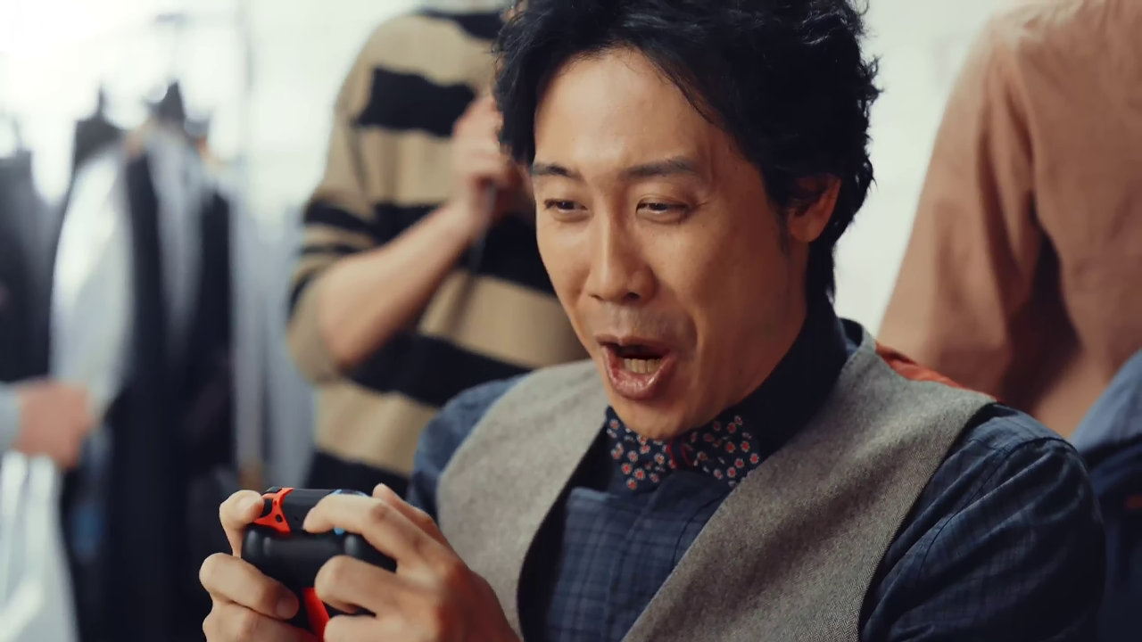 Nintendo Switch TVCM - 大泉洋さん