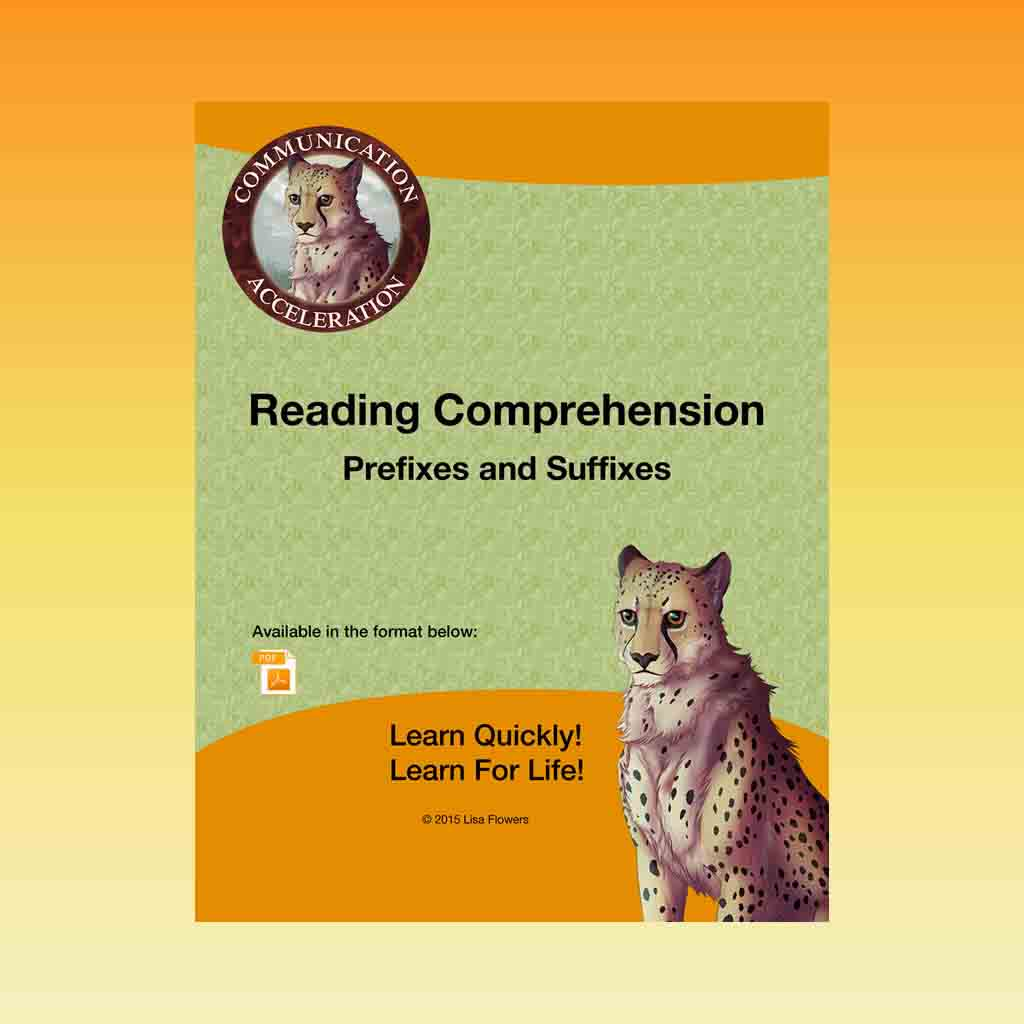 Reading Comprehension Worksheets Packet Printable From Communication Acceleration