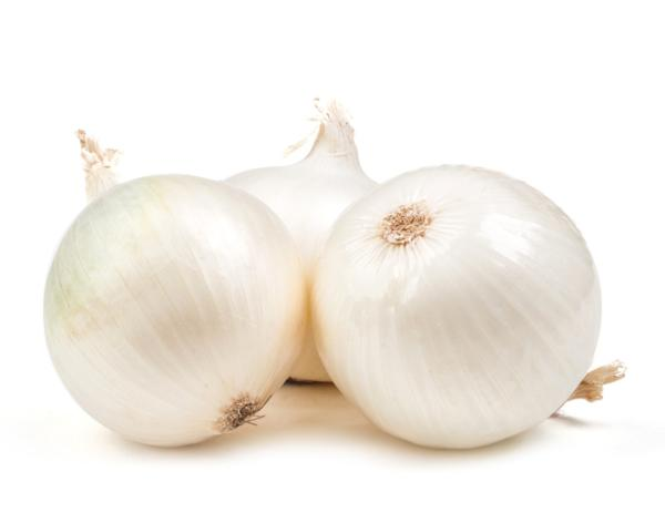 Onion types - White onion