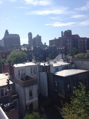 Rooftop view of Brooklyn Heights