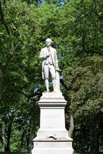 Alexander Hamilton (1757–1804), Central Park. Wall Decal