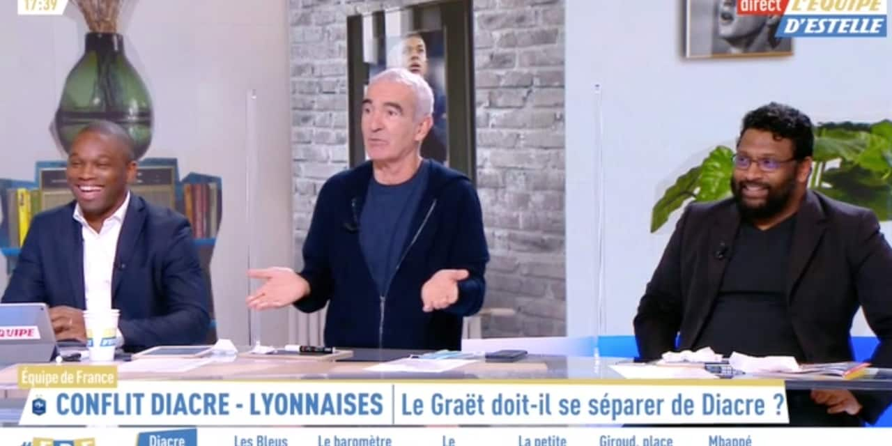 Maybe you would like to learn more about one of these? Raymond Domenech Se Fait Virer Du Plateau Par Estelle Denis Apres Une Remarque Sexiste Dh Les Sports