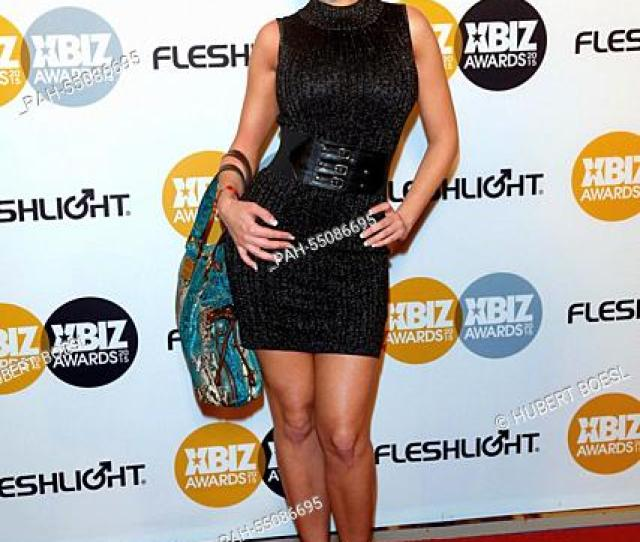 Adult Film Actress Britney Amber Arrives At The 2015 Xbiz Awards In Los Angeles Usa