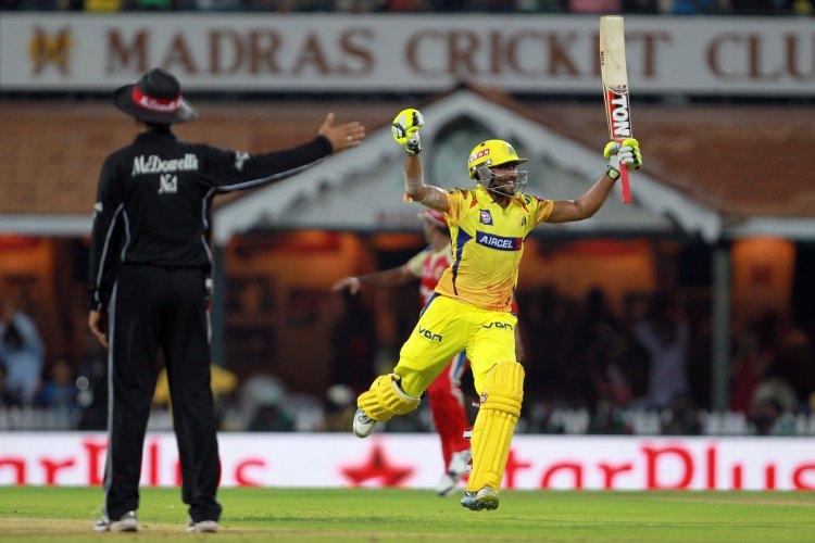 CSK's Ravi Jadeja celebrates