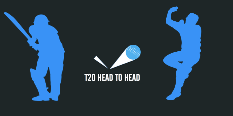 head to head T20 player stats