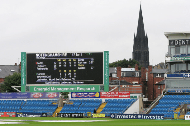 Headingley Records and Statistics in The Hundred
