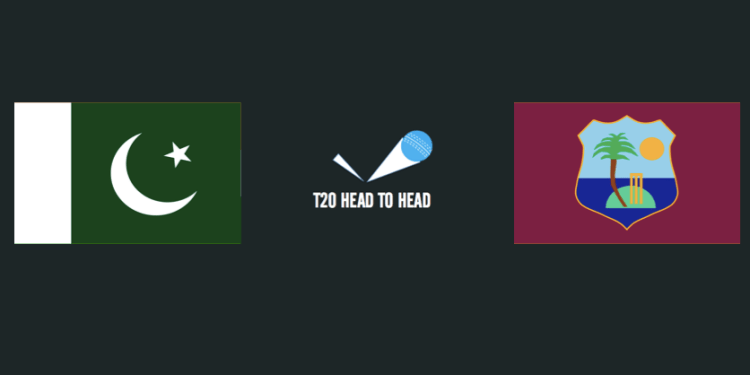 PAK vs WI T20 head to head