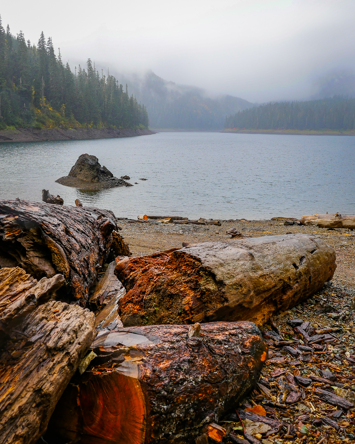 Lake in the Cascade Mountains