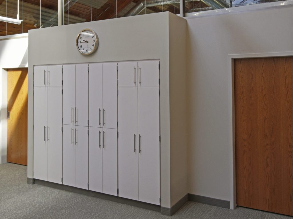 Laminate cabinetry