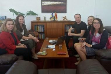 Meeting Salzburg University of Applied Science Delegation