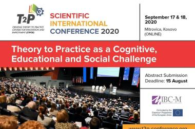 """The """"Theory to Practice as a Cognitive, Educational and Social Challenge"""" Conference – 17th and 18th of September"""
